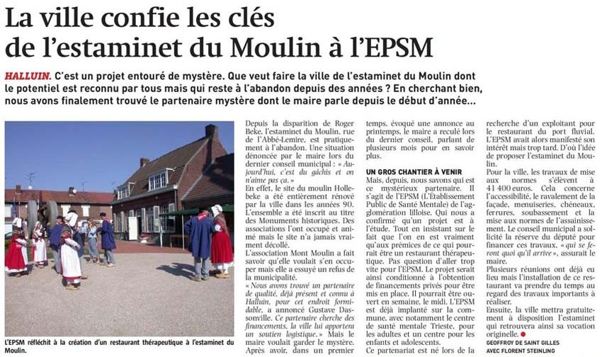 170312 Estaminet du Moulin NE revue de presse
