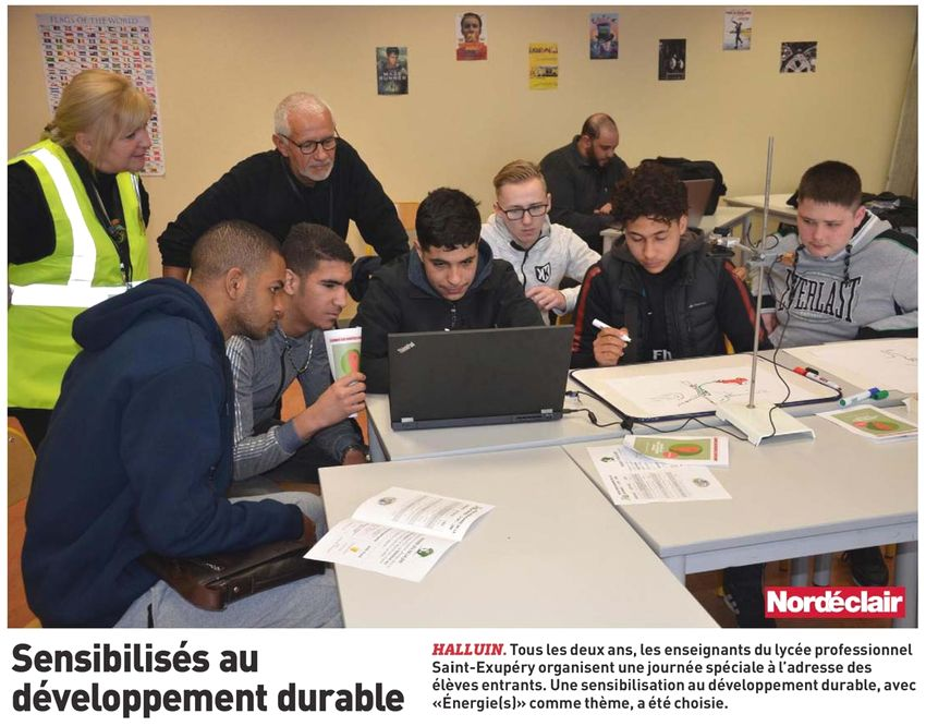 20180423 LEP Saint Exupry PHOTO NE revue de presse