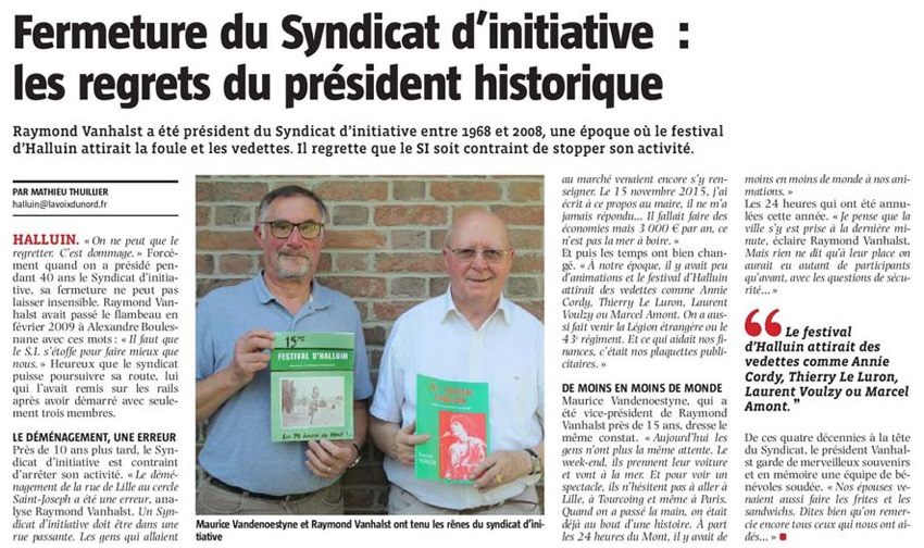 20170924 syndicat Initiative Fermeture VdN revue de presse