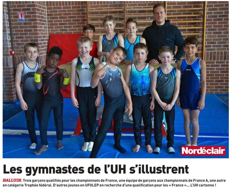 170430 PHOTO GYMNASTES NE revue de presse